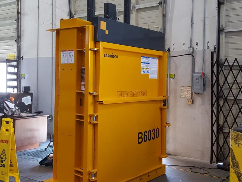 Bramidan baler B30 Wide installed at Citizens of Humanity
