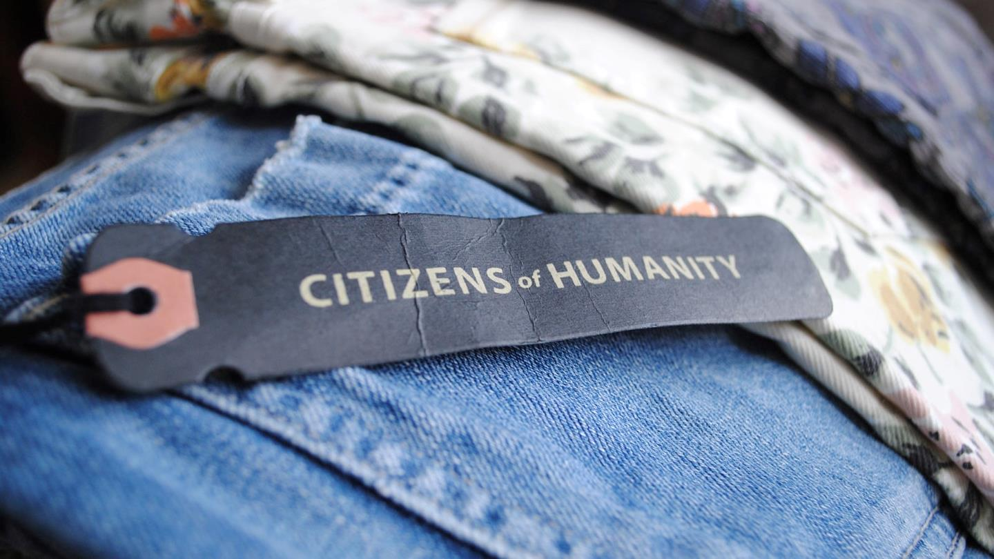 Blue jeans from Citizens of Humanity