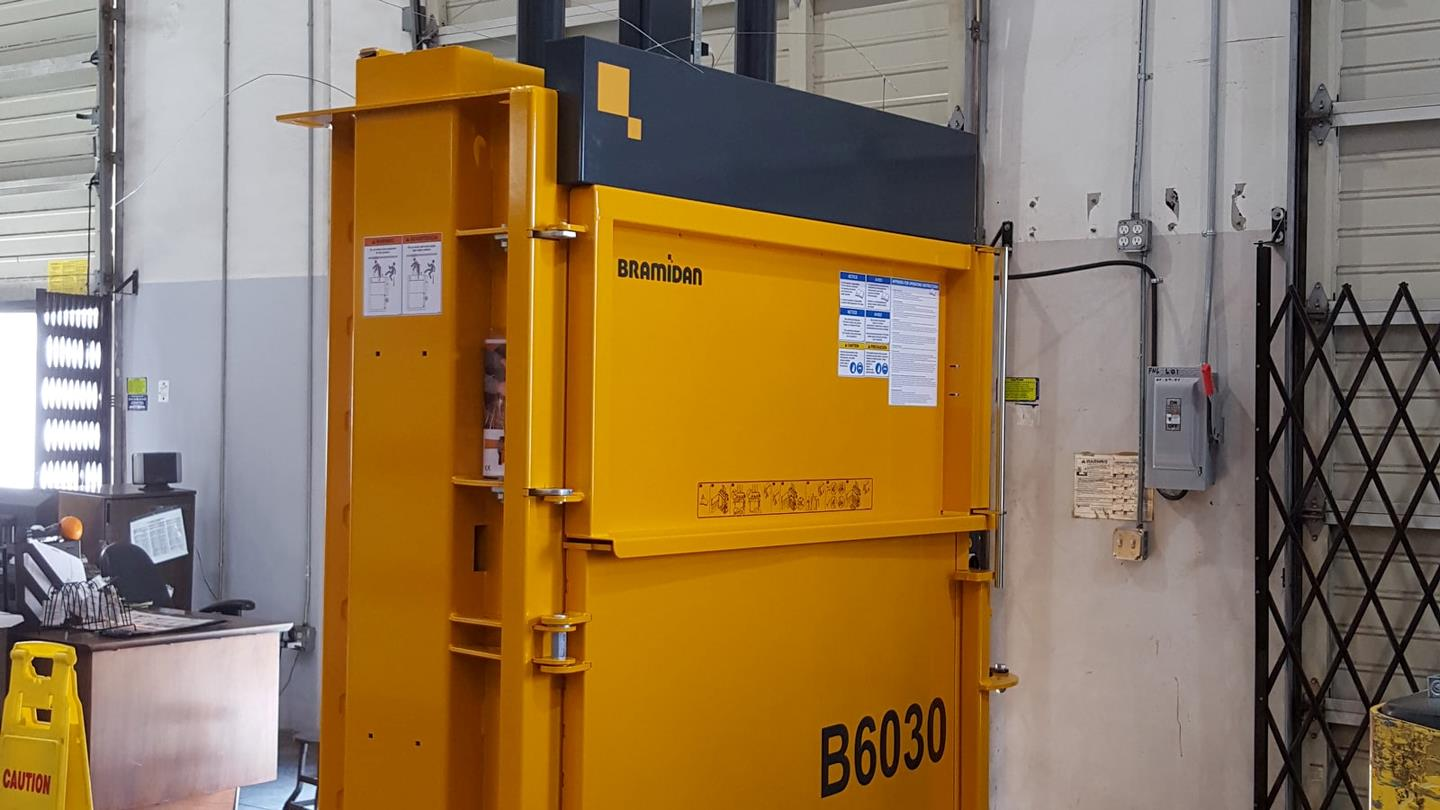 Bramidan B30 Wide baler placed at Citizens of Humanity