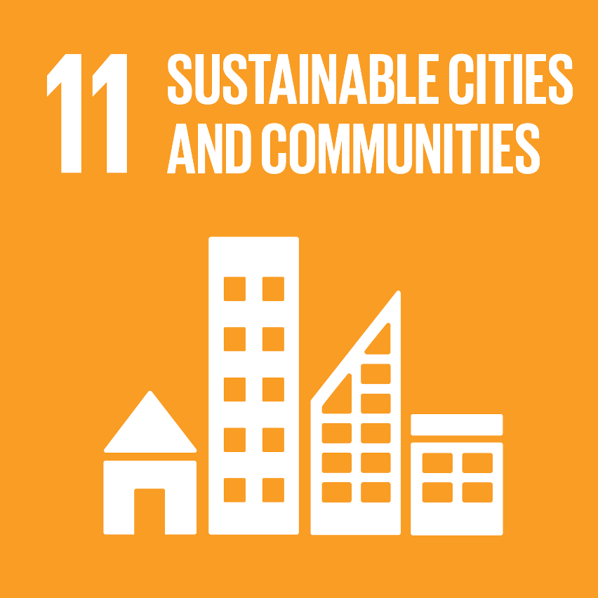 SDG Accelerator logo for Sustainable cities and communities