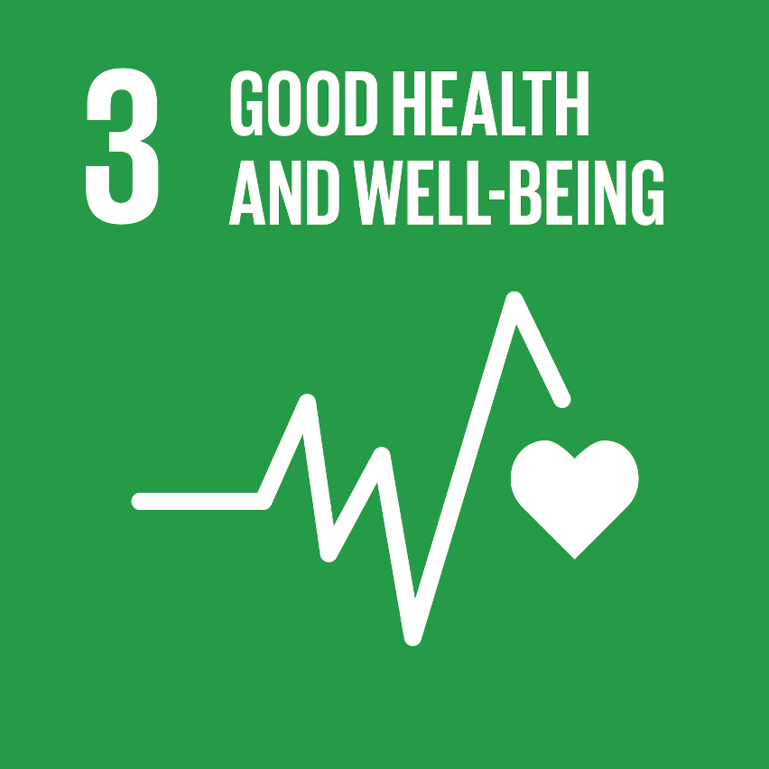 SDG Accelerator logo for Good health and well-being