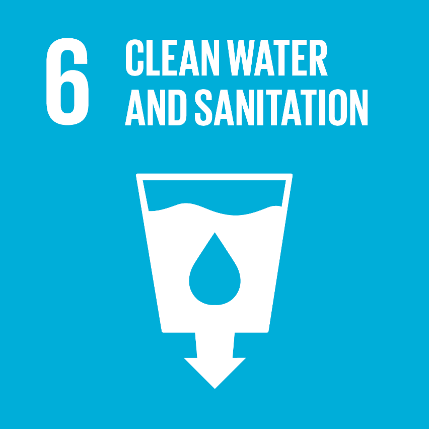 SDG Accelerator logo for Clean water and sanitation