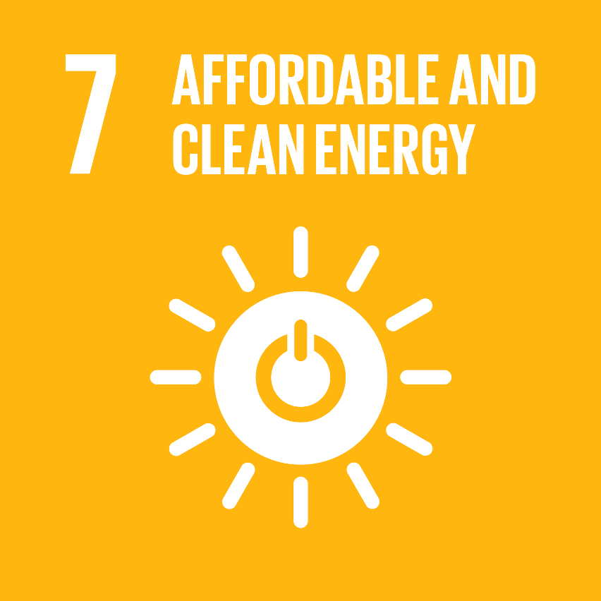SDG Accelerator logo for Affordable and clean energy