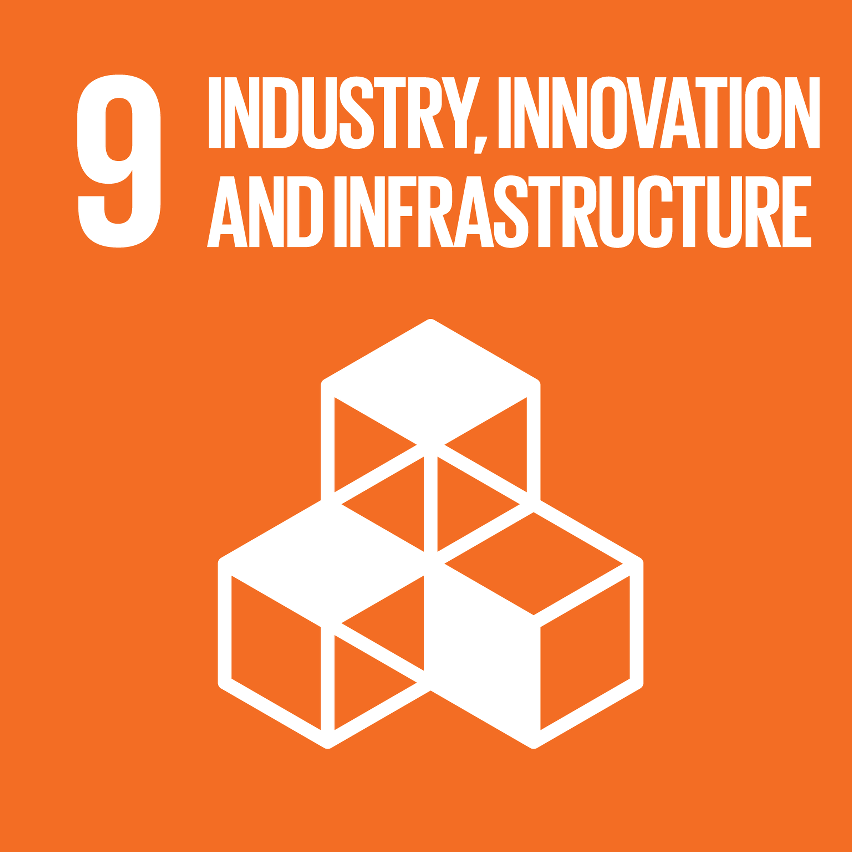 SDG Accelerator logo for Industry, innovation and infrastructure